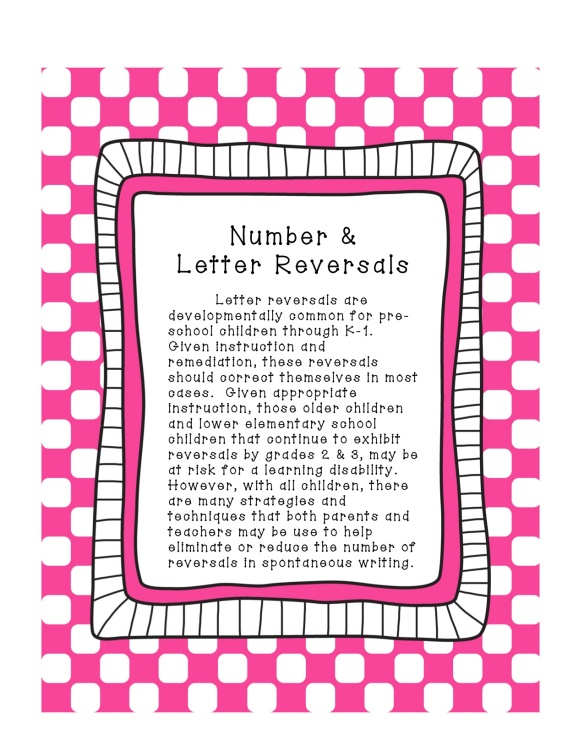 Number and Letter Reversals3