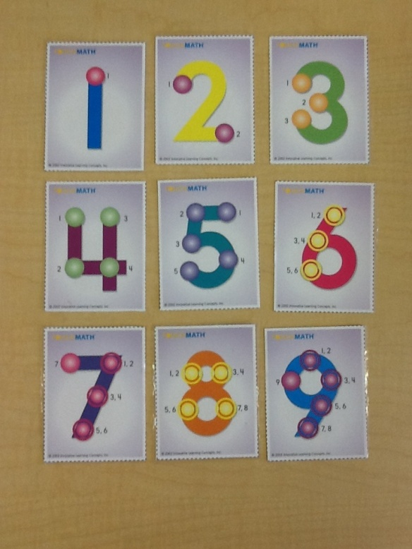 TouchPoint cards w: number sequence