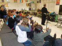 Mr. Tieszan goes over what to expect at the symphony and how to behave while there.