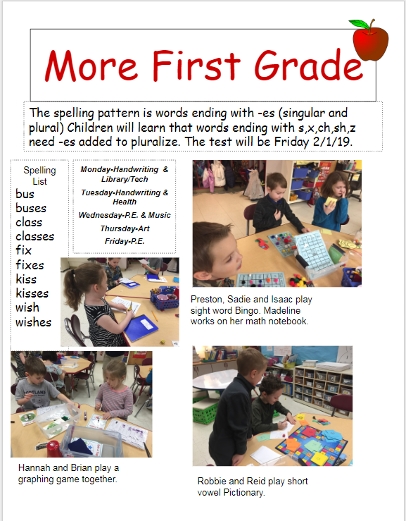 newsletter 2nd page